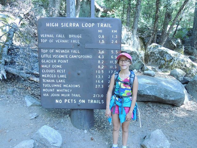 Tara at Trailhead