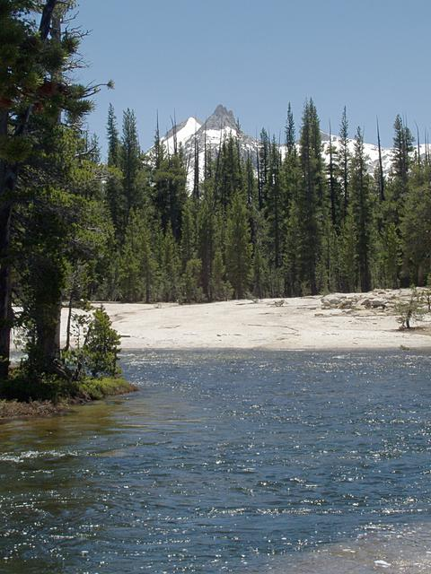 Cathedral Peak and Tuolumne River