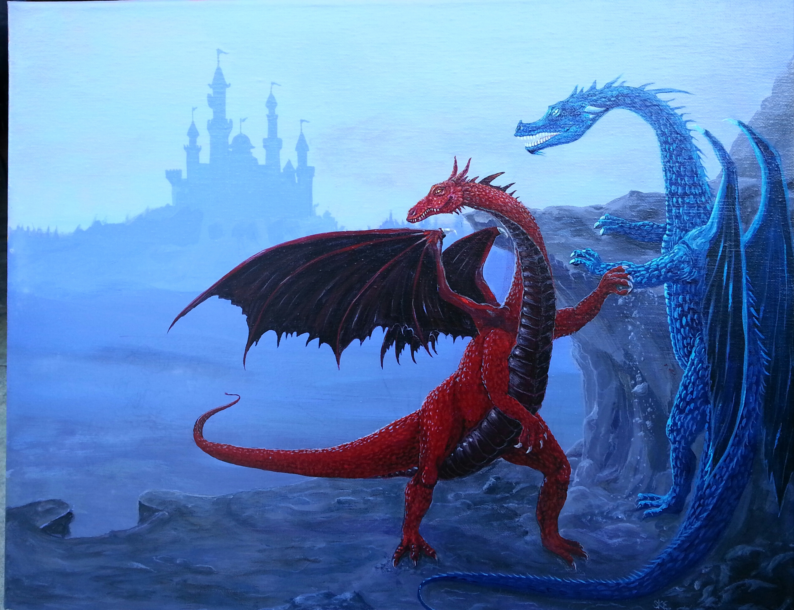 Dragons of the Castle
