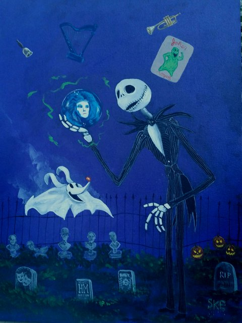 Haunted Mansion Holiday mash up