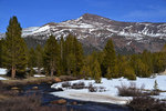 Mount Gibbs and the Dana Fork of the Tuolumne River