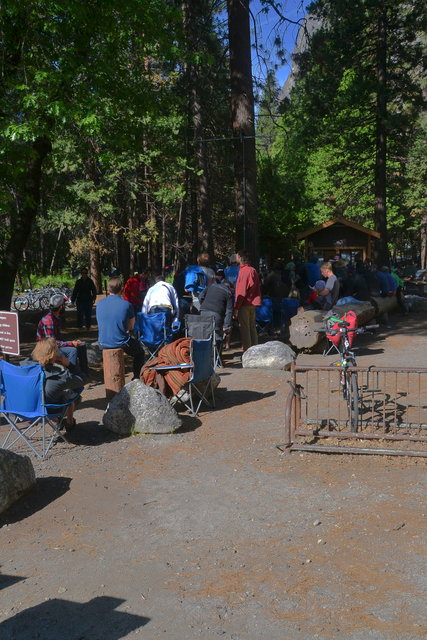 Queue at Camp 4