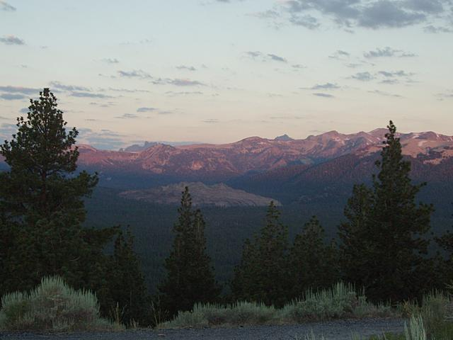 Sierra Sunrise from Long Valley Caldera