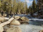Icy Dana Fork of the Tuolumne River