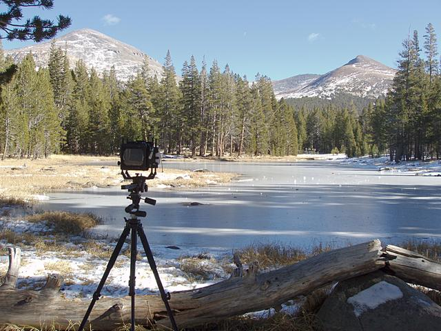 Camera and Icy Tarn
