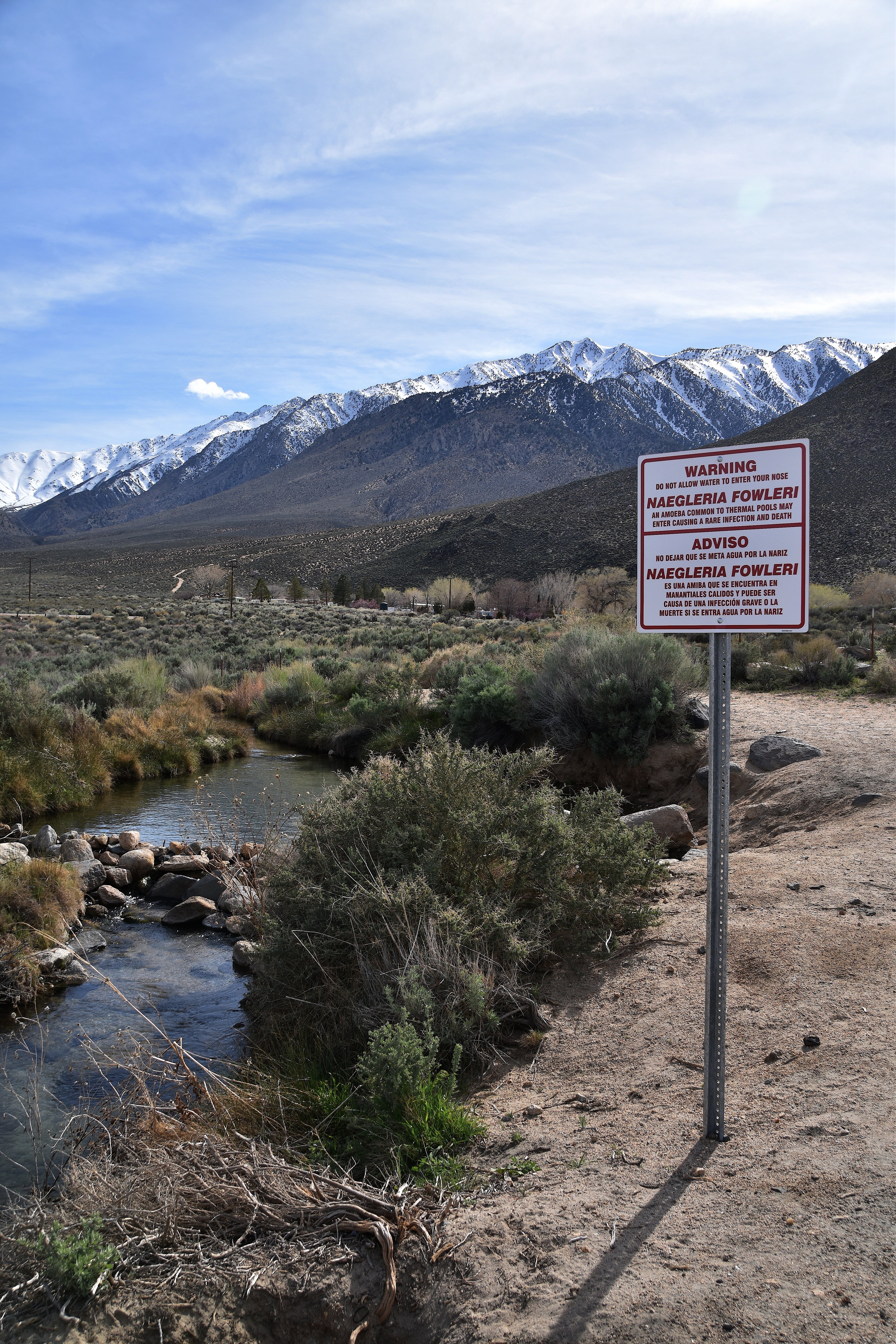 New signs at Keough Hot Springs