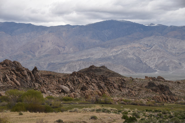 Inyo Mountains from the Alabama Hills