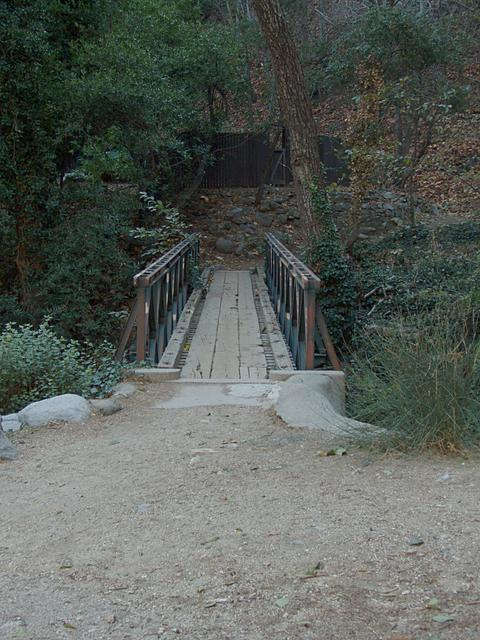 Trail Bridge Near Chantry Flats