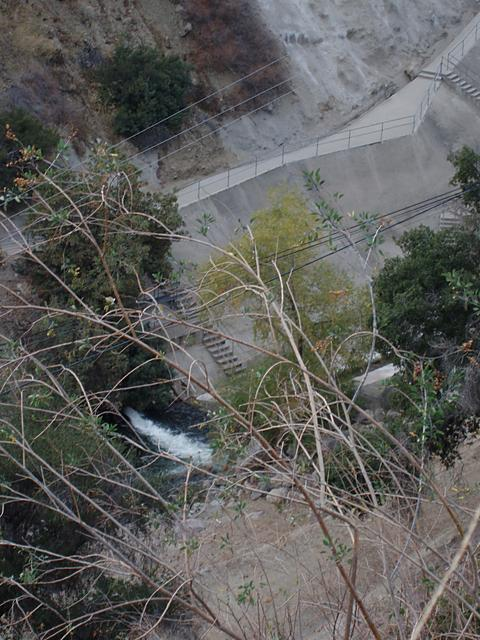 Water Release from San Dimas Canyon Dam