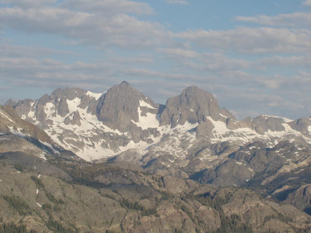 Mount Ritter and Mount Banner