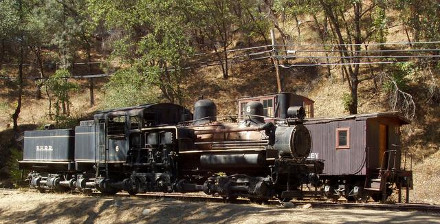 Hetch Hetchy Railroad Steam Engine