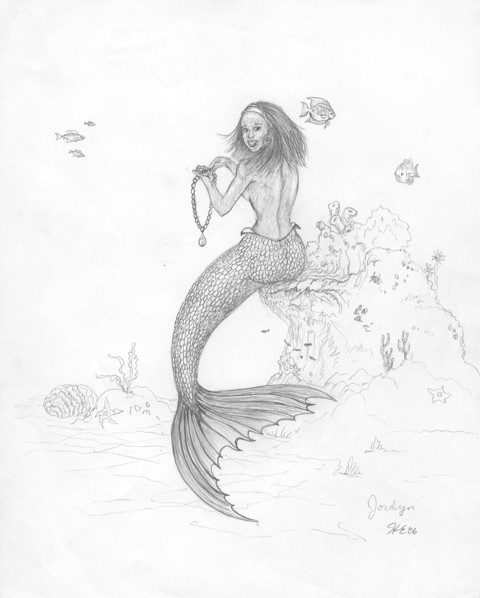 Jordyn Mermaid