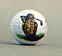 Turtle Golf Ball