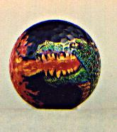Fire Breathing Dragon Golf Ball