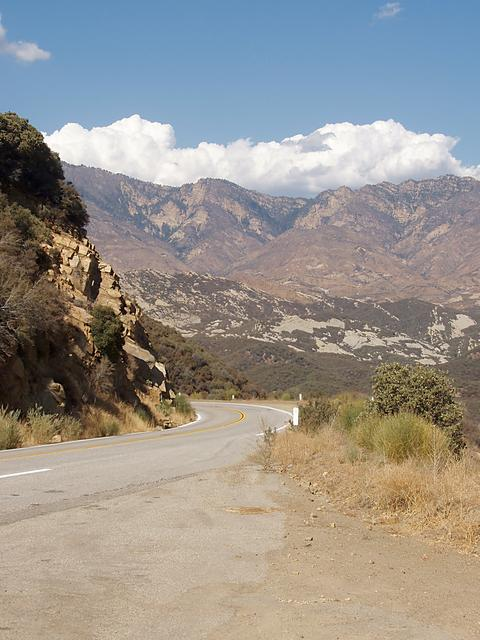California Highway 33 North of Ojai