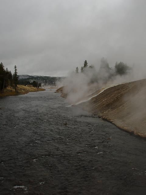 Firehole River at Excelsior Geyser
