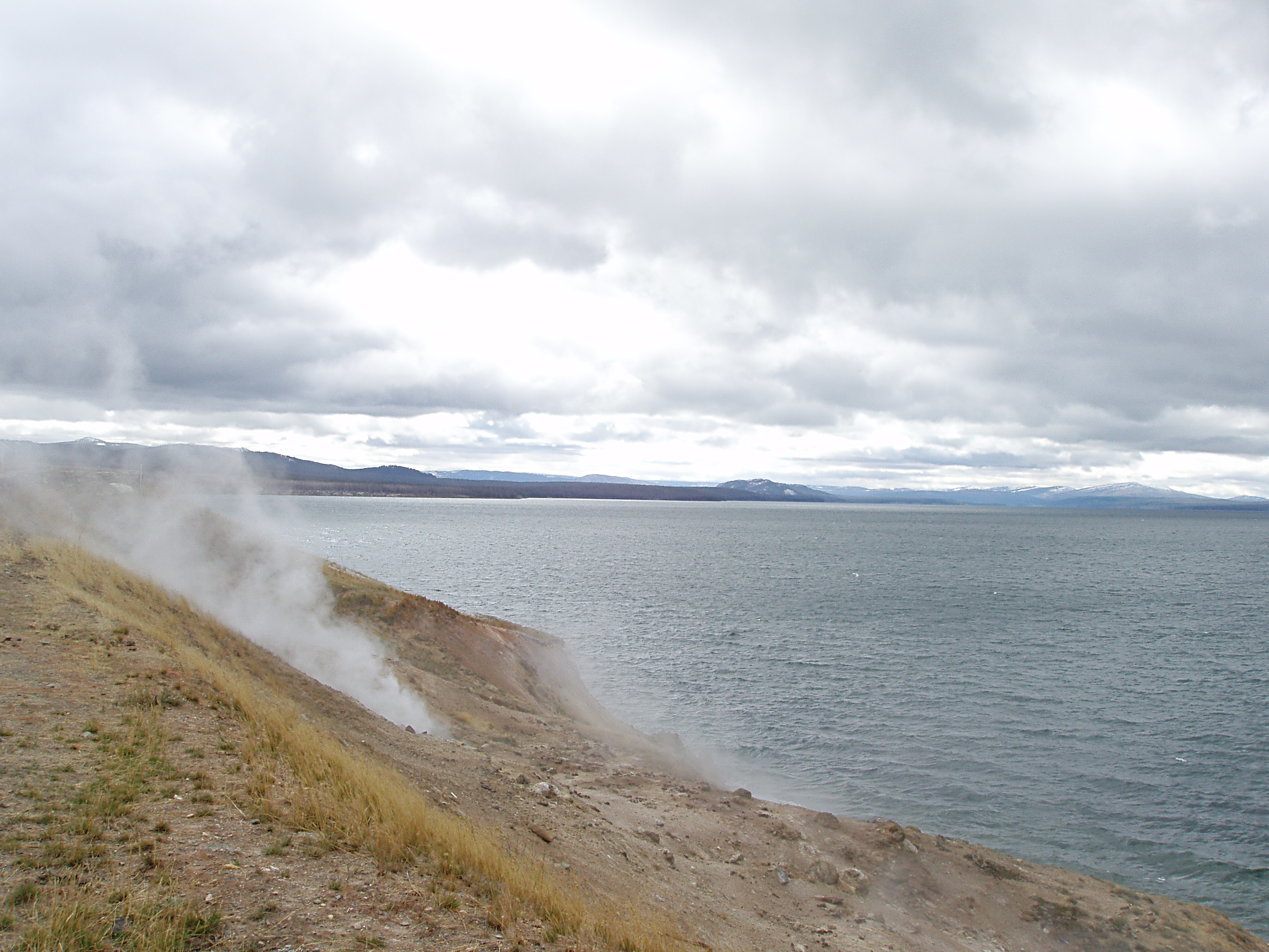 Steam Vent at Yellowstone Lake