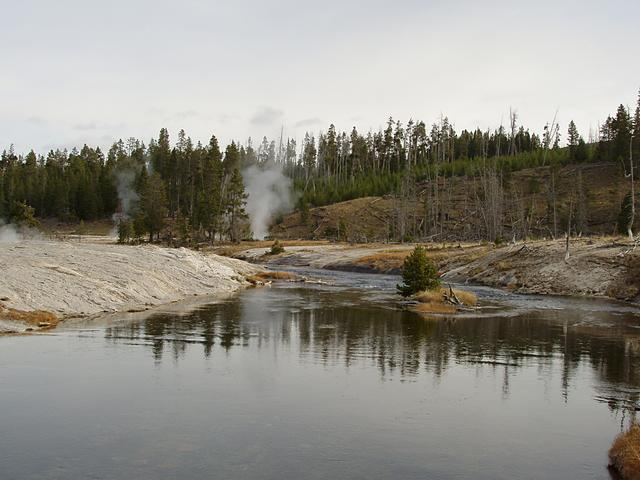 Firehole River Upper Geyser Basin