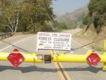 Angeles National Forest is Closed