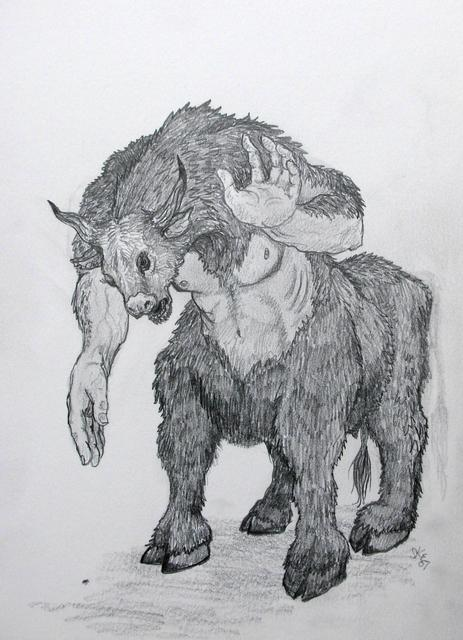 Minotaur and a Beetle