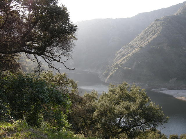 Reservoir in San Dimas Canyon