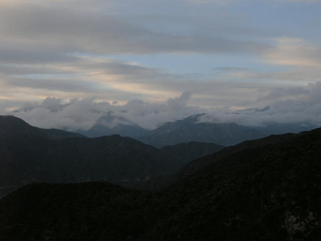 Clearing Storm, San Gabriel Mountains