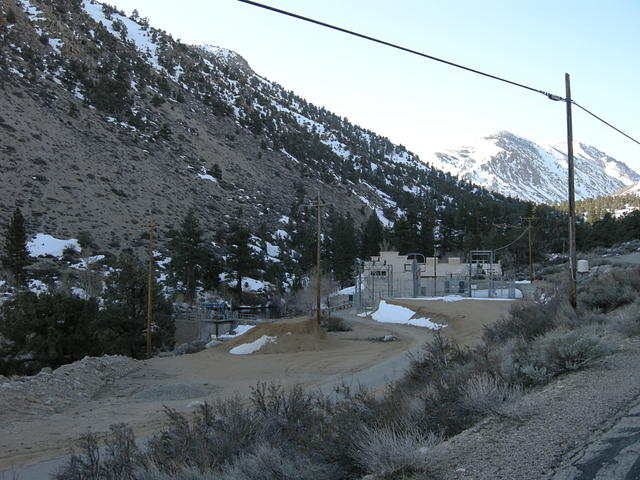 Hydroelectric Plant on Bishop Creek