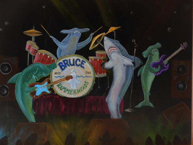 Bruce and the Hammerheads all Shark Band