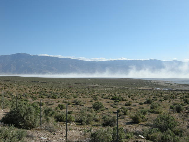 Blowing Alkali Dust at Owens Lake