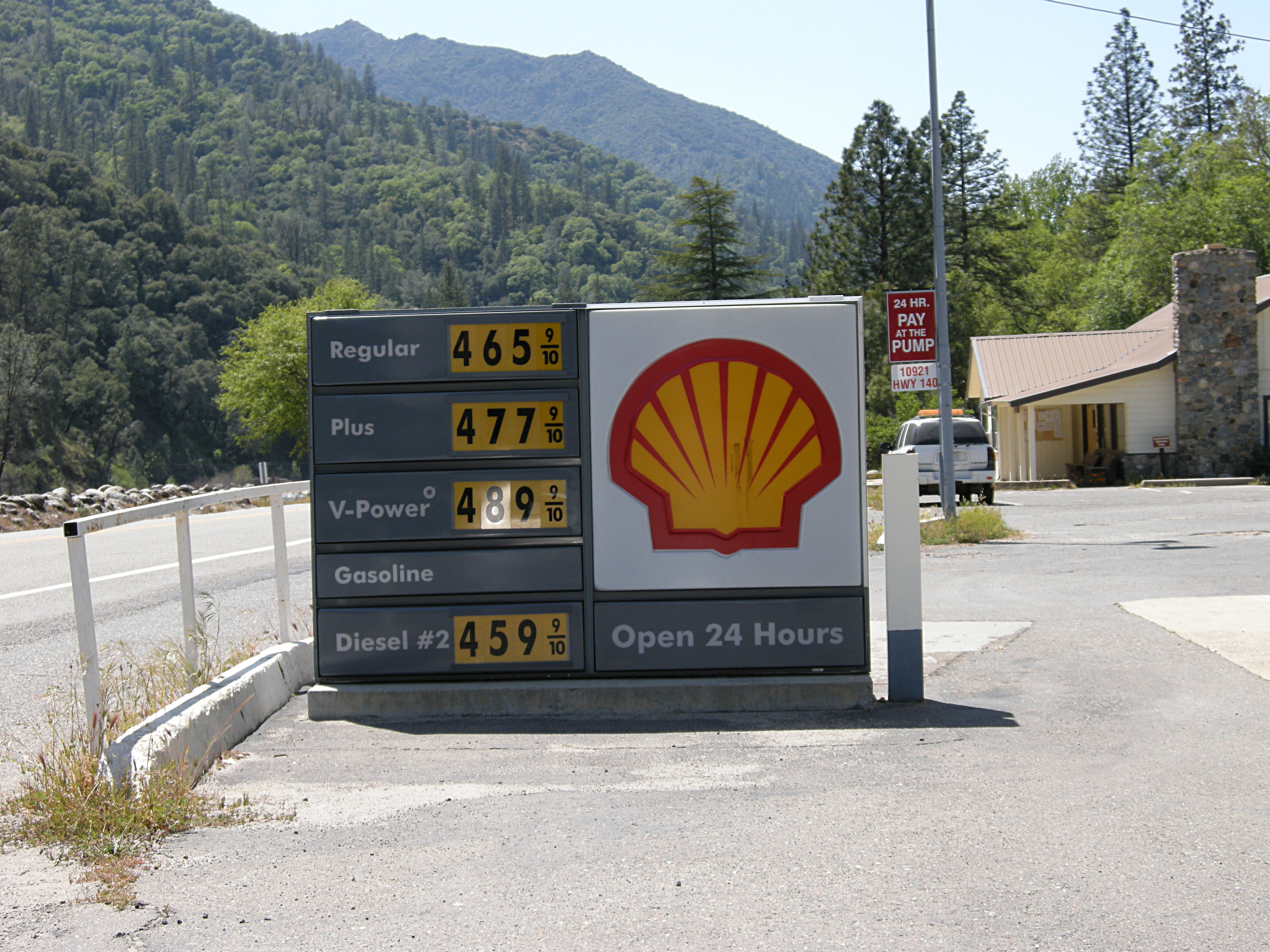 Gas Prices at El Portal