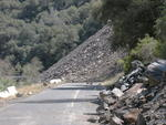 Highway 140 Rock Slide