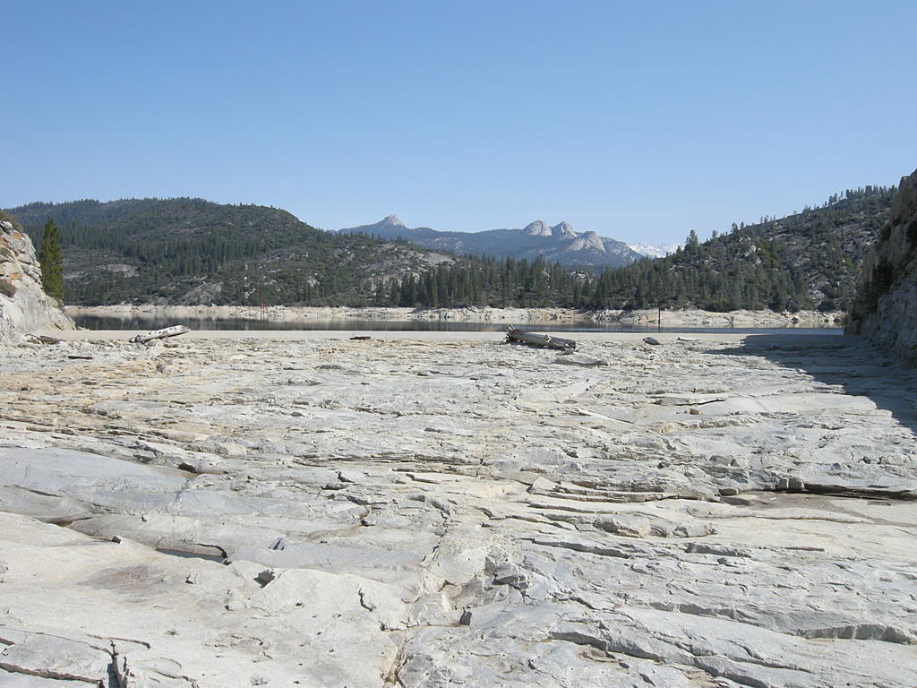 Spillway at Mammoth Pool
