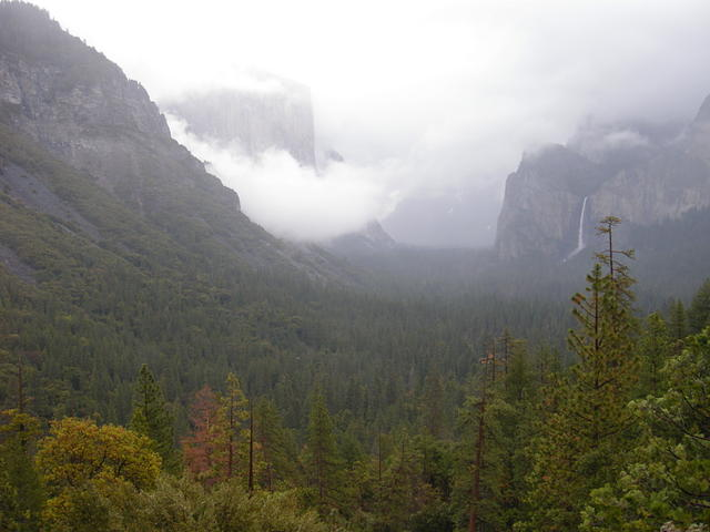 Yosemite Valley on a Stormy Day