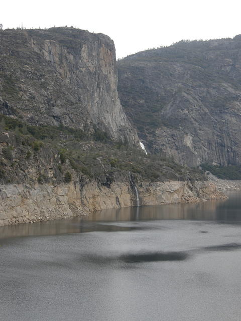 Tueeulala Falls and Wapama Falls at Hetch Hetchy