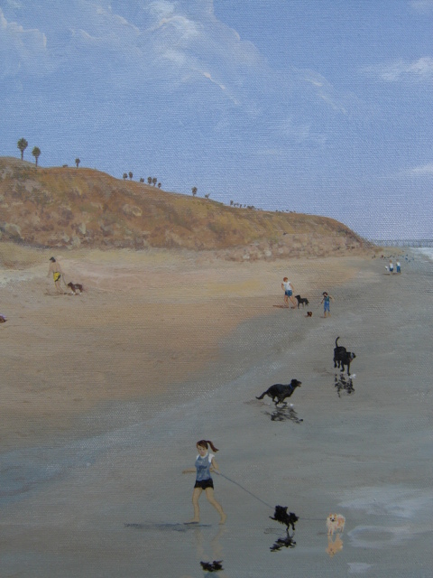 Dog Beach (detail)