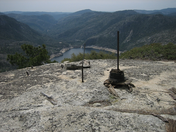 Top of Hetch Hetchy Dome (by DeKeyser)