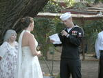 Reading His Vows
