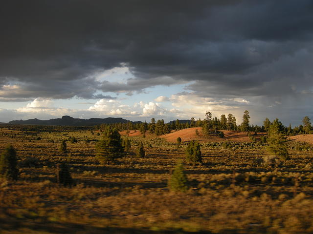 Leaving Bryce with a Storm
