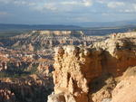 Looking back towards Bryce Point from the Rim Trail