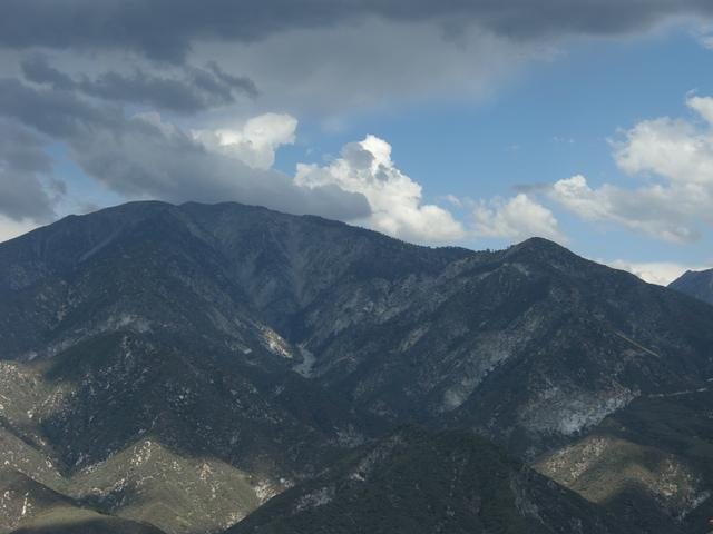 Mount Baldy with Storm Clouds