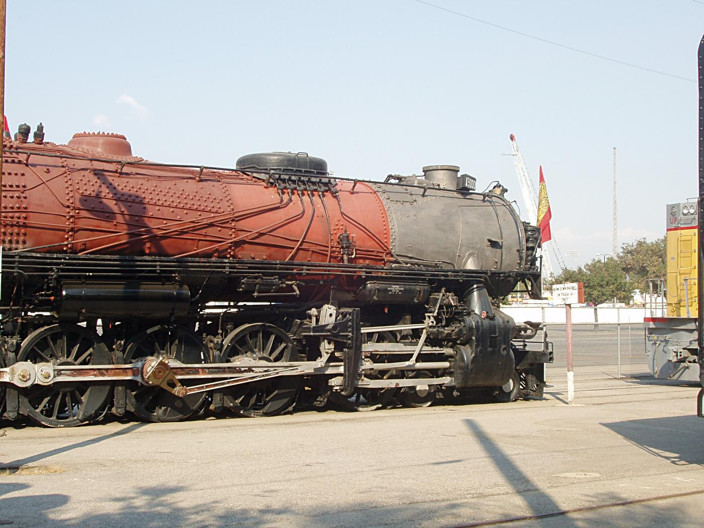 Union Pacific X9000 3-Cylinder 4-12-2